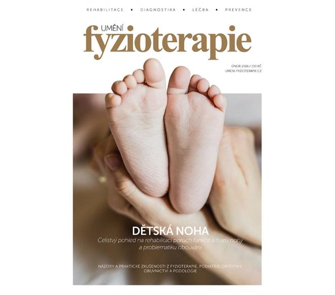 Časopis Umění fyzioterapie č. 1