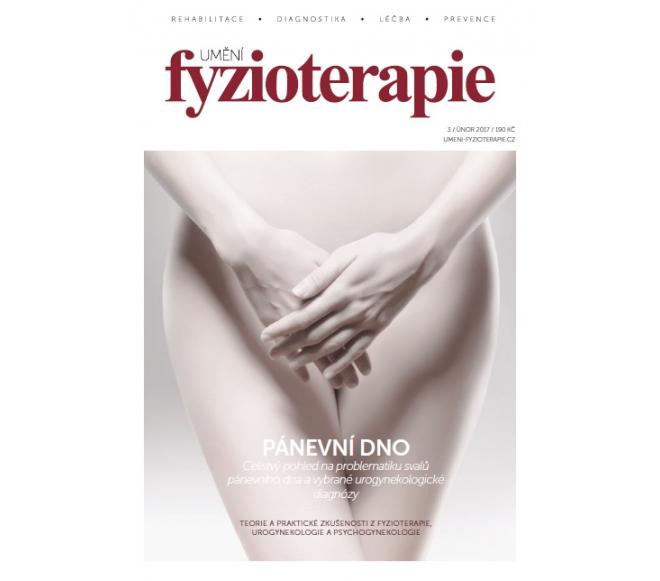 Časopis Umění fyzioterapie č. 3