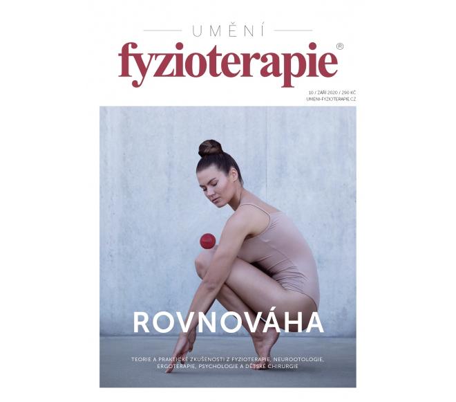 Časopis Umění fyzioterapie č. 10